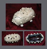 Bone Rose Jewelry Box by silverperfume