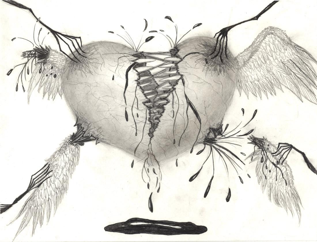 Torn Heart by silverperfume
