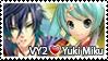 VY2 x Yuki Miku stamp by Marynchan