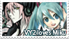 VY2 loves Miku stamp by Marynchan