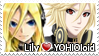 YOHIOloid x Lily stamp 01 by Marynchan