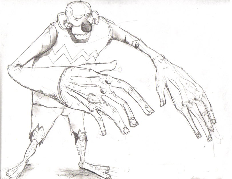 Monster, monster by elpajo