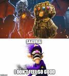 Sakurai... I don't feel so good...