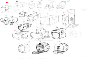 TanooJump In-App products sketches