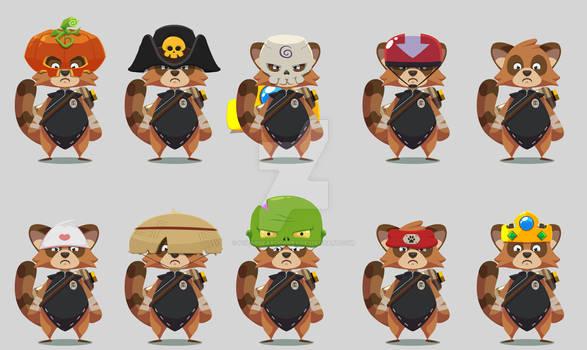 TanooJump - skins ideas