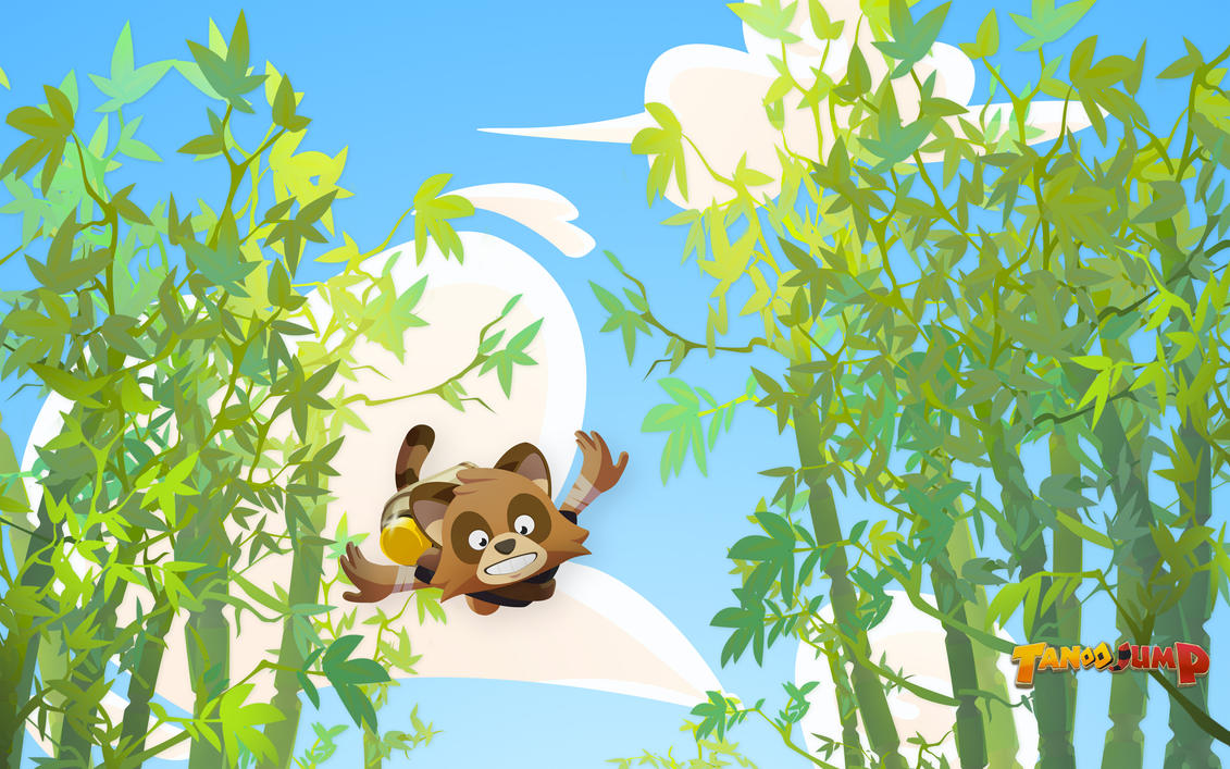 Wallpapers Tanoo Jump Game by polarbeardgames