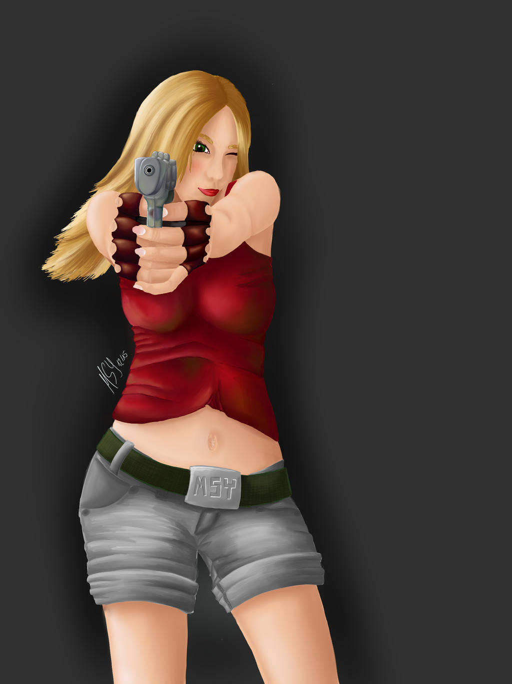 Gungirl By Mesayea On Deviantart Soon, gungirl2 will also be available on steam for free! deviantart