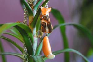 little fox pendant by baarakka