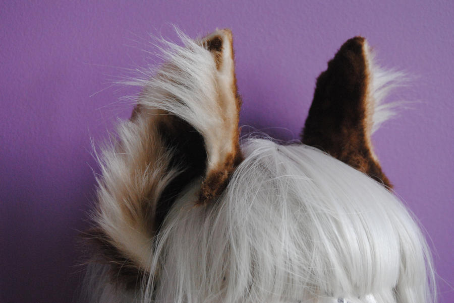 wolf ears by baarakka on deviantart