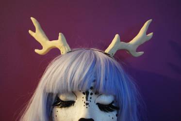 resin deer antlers by baarakka