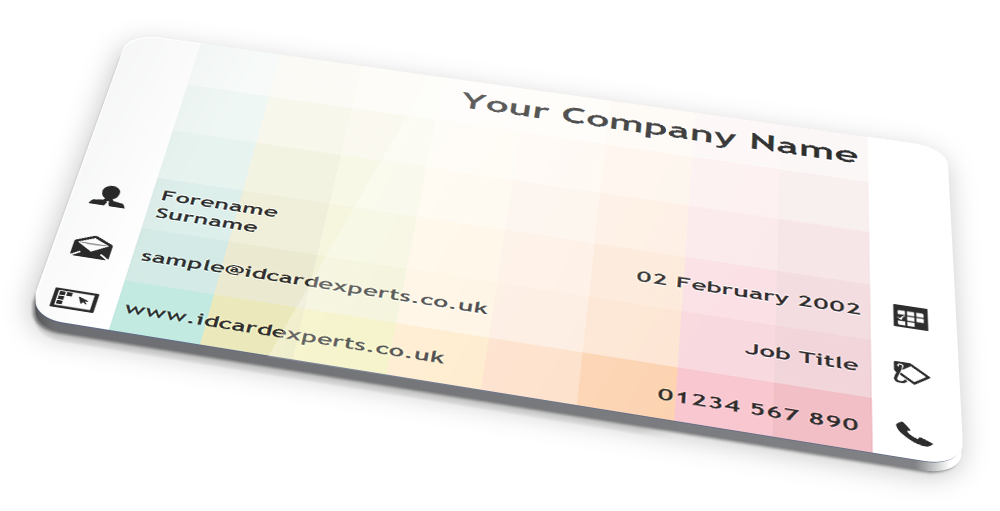 PASTEL SQUARES \'BUSINESS\' ID CARD DESIGN by IDCardExperts on ...