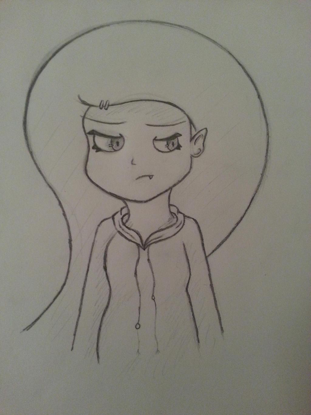 Sketch - Mysti by TheAliami