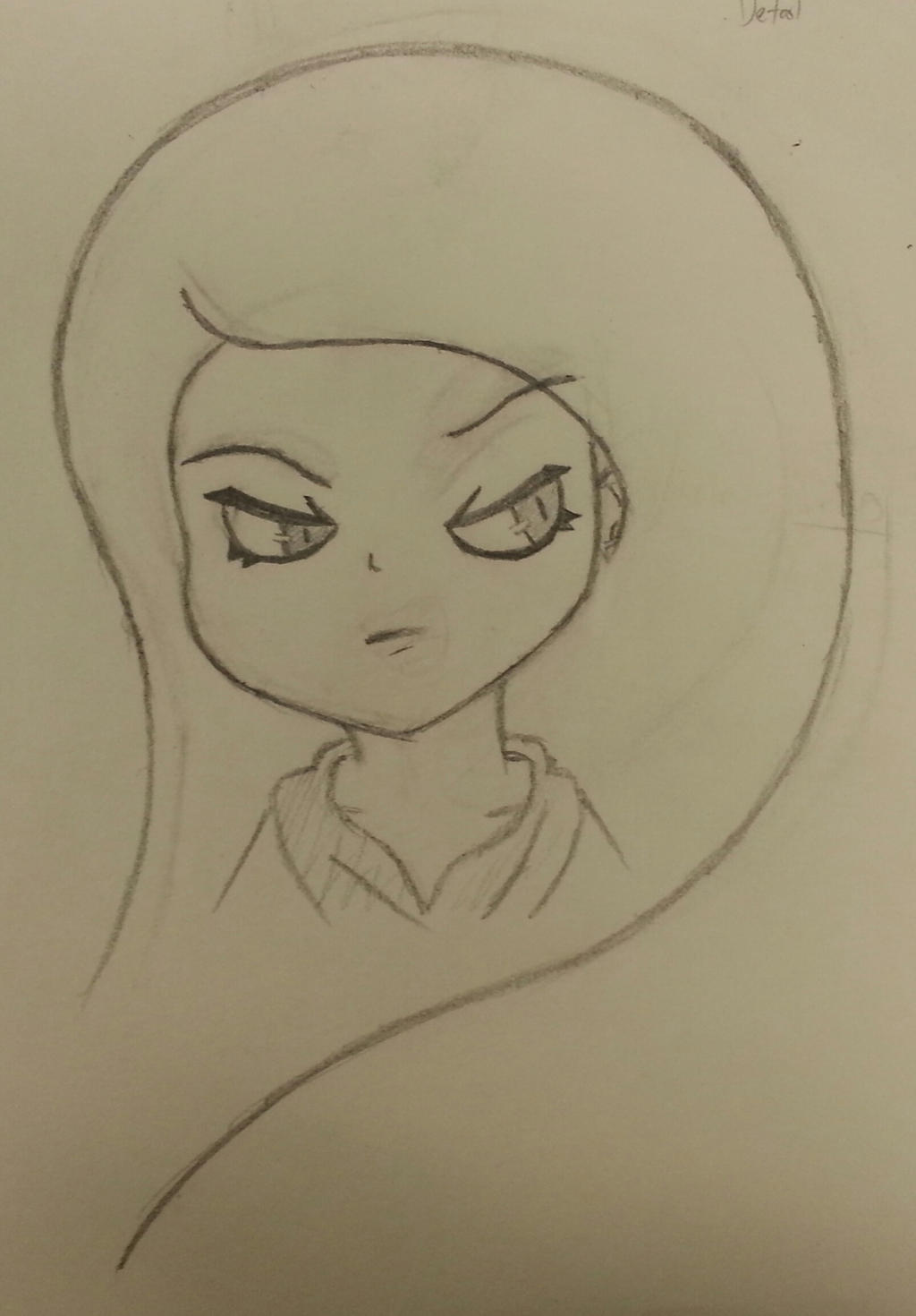 Sketch - Older Mysti by TheAliami