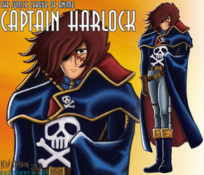 JLAnime 2: Harlock