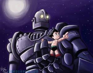 Astro Boy and The Iron Giant