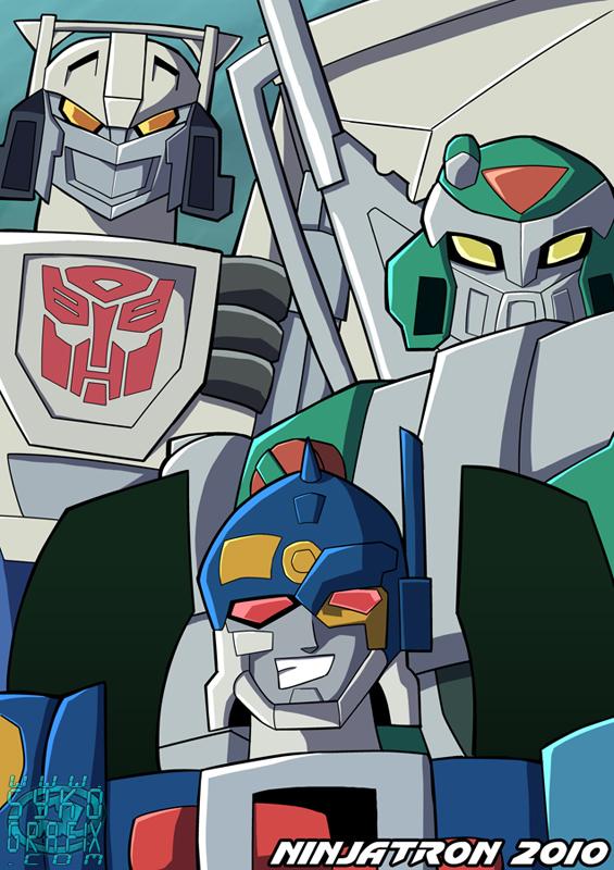 RiD Autobot Brothers by ninjatron