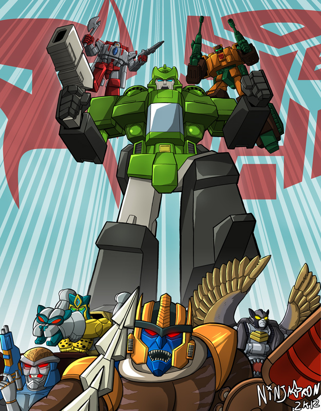TFcon 2012 - Maximal Wreckage by ninjatron
