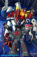TFcon 2013 - Van-Guardian's Gang by ninjatron