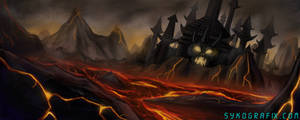 Lava Town by ninjatron