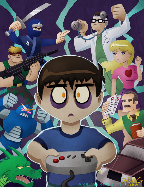 Game Addict by ninjatron