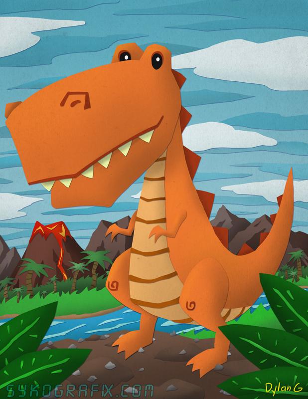 Dinosaur by ninjatron