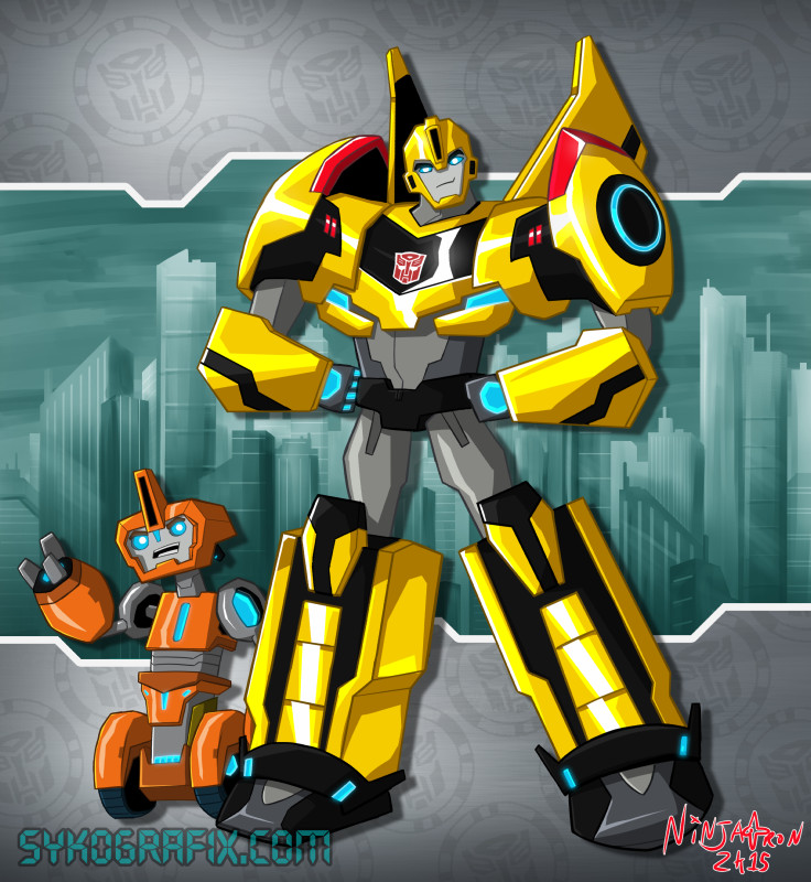 Transformers RiD 2015 Bumblebee and Fixit
