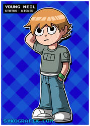 Young Neil by ninjatron