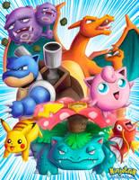 Pokemon by ninjatron
