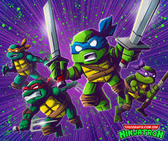 Experimental Ninja Turtles by ninjatron