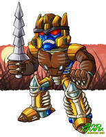 SD Dinobot by ninjatron