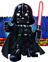 SD Darth Vader by ninjatron