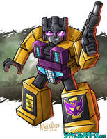 WILDCARD - Combaticon Swindle by ninjatron