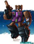 WILDCARD - Combaticon Blast-Off