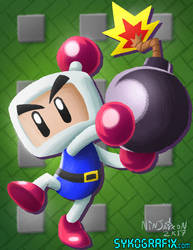WILDCARD - Bomberman by ninjatron