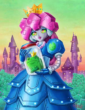 Prince Frog in Jar and Robot Princess
