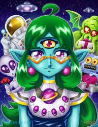 Your Space Girlfriend by ninjatron