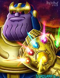 Thanos by ninjatron