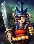 Samurai Bug Girl