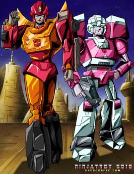 Gender-Flipped Transformers