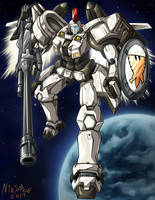 Gundam Wing - Tallgeese by ninjatron