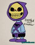 #Skeletober 2019 Day 8 - Peanuts Skeletor