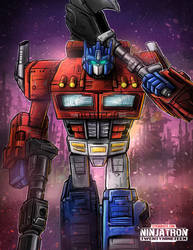 Transformers Siege Optimus Prime