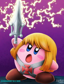 Kirb-He! Kirby He-Man Commission