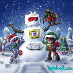 Snow Day on Cybertron