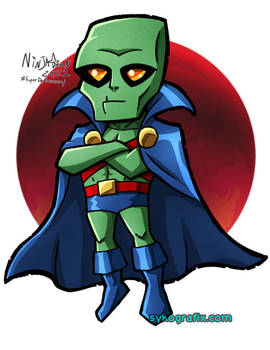 SD Martian Manhunter