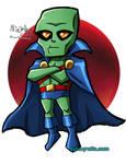 SD Martian Manhunter by ninjatron