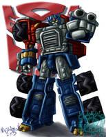TF Armada: Optimus Prime by ninjatron