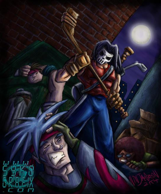 Casey Jones by ninjatron