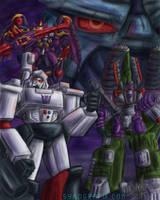 4 Megatrons by ninjatron