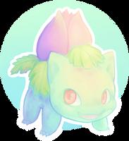 [DRAW THE POKEDEX] #002-Ivysaur by GREATLORDHELIX